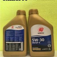 TERLARIS OLI MOBIL IDEMITSU SN GF5 5W30 FULLY SYNTHETIC 1 Liter l