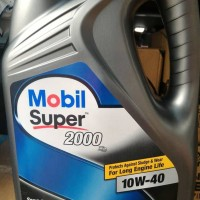 HARGA KHUSUS Oli Mobil 1 Super 2000 SAE 10W 40 Galon 4 liter anek