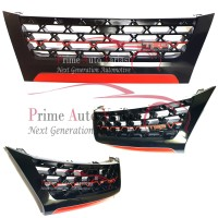 Front Grill Gril Depan TRD Black Glossy Khusus All New Fortuner 2016+