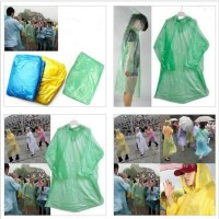 Jas Hujan Sekali Pakai (Disposable Raincoat)