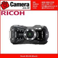 HARGA HEMAT Ricoh WG 50 Black Kamera Pocket Underwater Limited