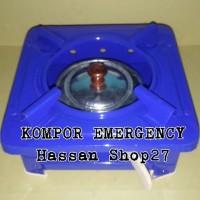 Kompor spirtus / Kompor emergncy /Kompor camping ukuran 20x20cm