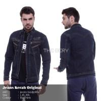 Jaket Jeans Pria The Bery Warna Bioblitz Biothink Biowash