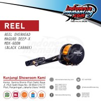 Rel OH Jigging Maguro Deep X 600 N - Black