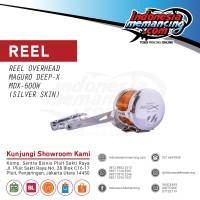 Reel OH Jigging Maguro Deep X 600 W - Silver