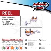 Reel OH Jigging Maguro Deep X 600 N- Silver