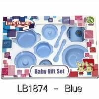 LUSTY BUNNY Feeding Set Peralatan Makan Bayi 9in1