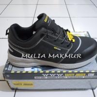 Sepatu safety Jogger Rocket81 S1P Black/Hitam