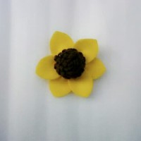 Bros Bunga Matahari Flanel B06