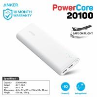 PowerBank Anker PowerCore 20100 mAh White - A1271
