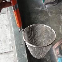 Saringan mie ayam-kocokan mie-saringan basket diameter 14cm