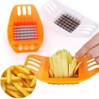 Pisau Pemotong Kentang Praktis Potato Chips Cutter Slicer