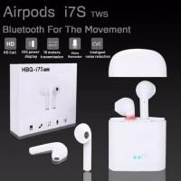 airpods headset bluetoot 4,2 sport wireless ear phone hbq i7s tws mini