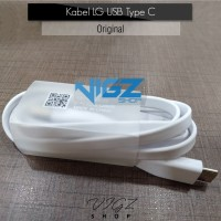 Kabel Charger / Data LG USB Type C Fast Charging Original 100%