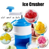Mesin Es Serut Serutan Es ICE CRUSHER Alat Manual Snow Ice Shaver Ice