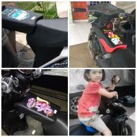jok kursi boncengan depan anak untuk motor SCOOPY