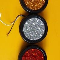 Lampu Stop Bulat LED | Aksesoris Mobil Truck onderdil