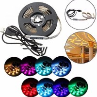 murah Termurah Mood Light Led Strip 5050 RGB with USB Controller-