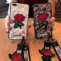 Case VIVO Y51 Y53 Y55s Y69 Y71 Y83 Y91 Y93 Women Lace Rose Flower
