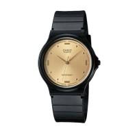 Casio Analog MQ-76-9ALDF Jam Tangan Pria Wanita - Hitam Gold