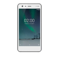 Nokia 2 Smartphone - 1/8GB - Dual SIM - 4G LTE - Pewter White