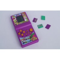 Mainan Jadul Game Tetris 9999 in 1 MINI Gameboy Brick Game - Ungu