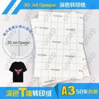 Transfer Paper 3G Jet Opaque USA ( Dark ) - A3