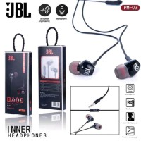 HEADSET JBL PM03 PURE BASS / HANDSFREE JBL PM03 EXTRA BASS HF EARPHONE