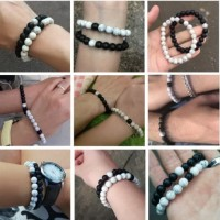 Gelang Couple / Premium Couple Bracelet / Gelang Batu 01