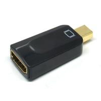Mini DisplayPort Thunderbolt to HDMI Switch Head - Hitam