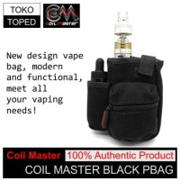 Authentic Coil Master PBag | BLACK | AN bag tas pouch tool tools