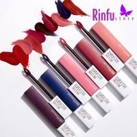 MAYBELLINE Super Stay Matte Ink City Edition Lipstik Liptint NEW COLOR
