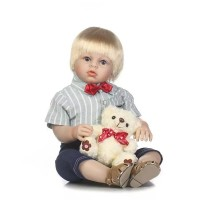 Boneka Reborn Jumbo 70cm / Boneka Toddler / Boneka Bayi NPK