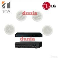 Paket Sound System TOA ZR 646 R Cafe