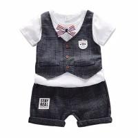 Setelan Bayi-Anak Laki-Laki+Rompi