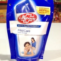 Lifebuoy Body Wash Mild Care Refil 250 Ml