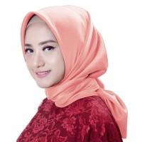 Kerudung Hijab Segi Empat Murah Salem Polos Satin X4V-08