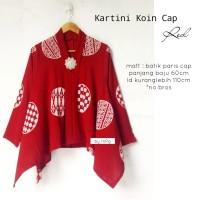 Blouse batik kartini cap koin merah
