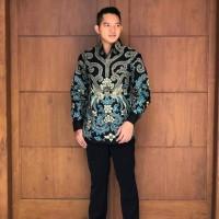 Kemeja batik pria corak mataraman full furing
