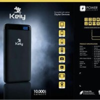 """Power Bank KEIY QUICK CHARGE 10000mAh K01PB10PD Pure for Iphone"""