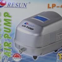 RESUN LP-40 Pompa Udara Aerator Low Noise Air Pump Blower 17W 50L/min