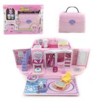 Handbag Dream House Hello Kitty - Mainan Rumah-Rumahan Hello Kitty