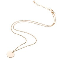 kalung simpel bulat small round thin simple necklace jka159