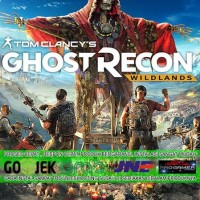 GHOST RECON WILDLANDS CD DVD GAME PC GAMING PC GAMING LAPTOP GAMES