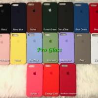 C201 Iphone 7+ / 7 PLUS Original Apple Silicon Leather Case Silicone
