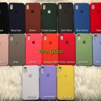 C201 Iphone XS MAX Original Apple Silicon Leather Case Silicone