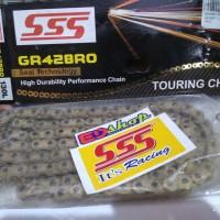 Rantai 428 SSS KRO Oring GOLD O-RING CBR VIXION NINJA SATRIA CB150 150