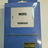 converter HDMI to AV rca