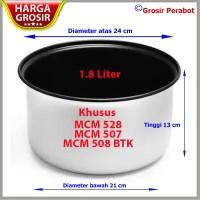 Panci Teflon Magic Com Miyako 1.8 Liter Tinggi 13 Cm MCM 528-507-508
