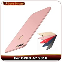 Casing OPPO A7 2018 A 7 Matte Hard Case Baby Skin Slim Fit Soft Cover